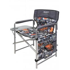 Кресло складное с полкой КСП/4 с камнями и кленовыми листьями