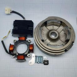 Комплект электрооборудования 192F 216 Вт (для РУЧ.стартера, без венца)