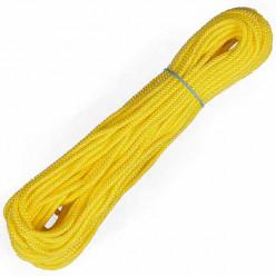 Линь плавающий 6мм 25м желтый