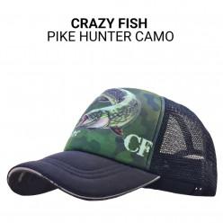 Кепка Crazy Fish Pike Hunter Camo M