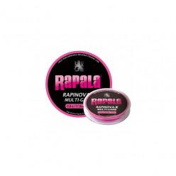 Шнур Rapinova-X MULTI GAME розовый 0.16мм 150м