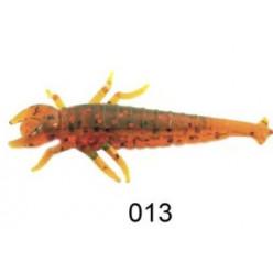 "Приманка ""Личинка стрекозы"" 2,0""/5,0 см., 0,85 гр., цвет 013. (уп/6 шт.)краб"