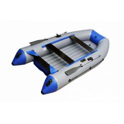 Моторная лодка ПВХ Zefir 3100 LT серый/синий