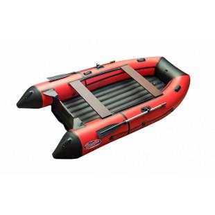 Моторная лодка ПВХ Zefir 3100 LT красный  с черным