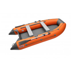 Моторная лодка ПВХ TROFEY 3100 оранжевый с темно-серым