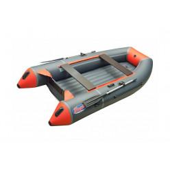 Моторная лодка ПВХ TROFEY 2900 серый/оранжевый НДНД