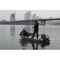 Катер алюминиевый TUNA Boats 410 M