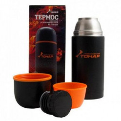 Термос TONAR чёрный с доп.чашкой 500ml HS.TM-023