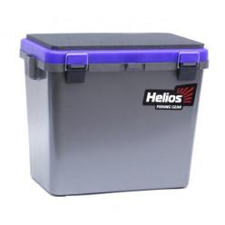 Ящик рыболовный зимний односекционный серый/синий HS-IB-19-GB-1