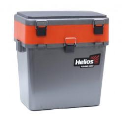 Ящик рыболовный зимний серый/оранжевый HS-IB-19-GO
