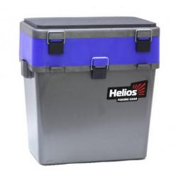 Ящик рыболовный зимний серый/синий HS-IB-19-GB
