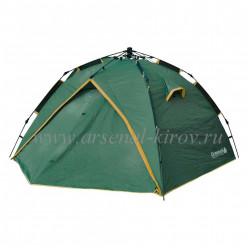 Палатка GREENELL Дингл 3 V2 зеленый размер 220/330/120 см