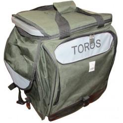 Ящик-рюкзак зимний, темно-зеленый TOROS