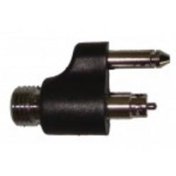 Коннектор топливный(папа)Yamaha410057