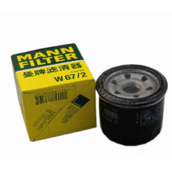 Фильтр масл.MANN-W 67/2 Suz DF40-115