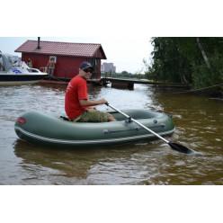 Лодка гребная TUZ 280 с полом и транцем