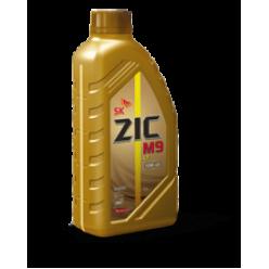 Масло  ZIC M9 4T 10W-40 синтетика1л.