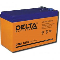 Аккумулятор Delta DTМ 1207