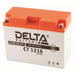 Аккумулятор Delta СТ 1216 VK 540