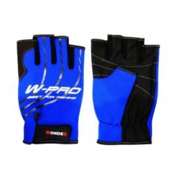Перчатки рыболовные безпалые Wonder Gloves W-Pro синие WG-FGL053 L
