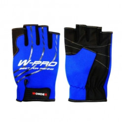 Перчатки рыболовные безпалые Wonder Gloves W-Pro синие WG-FGL055  2XL