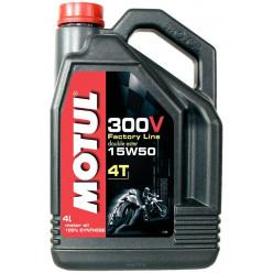 Масло MOTUL 300V 4T Factory Line 15W50 син.4л