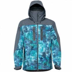 Куртка FHM Gale голубой/серый р.M