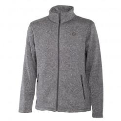 Куртка FHM флисовая Bump серый р.2XL
