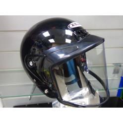 Шлем снегоходный СНОУ ZS-506 черный L