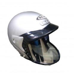 Шлем снегоходный СНОУ ZS-506 cеребряный ХL