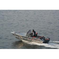 Катер алюминиевый TUNA Boats 500 CC