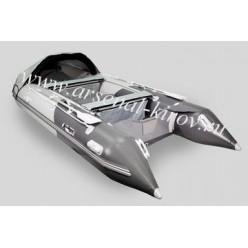 Лодка моторная Gladiator D470AL светло-серый/темно-серый
