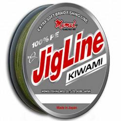 Плетеный шнур Jig Line KIWAMI 0.12мм 125м зеленый