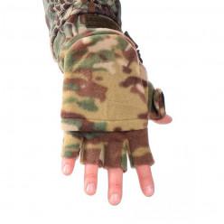 Перчатки-варежки флис