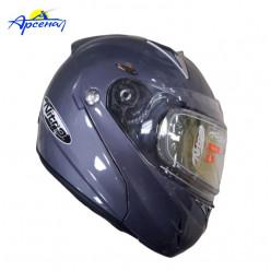 Шлем снегоходный F-349 черный AC187664-00L
