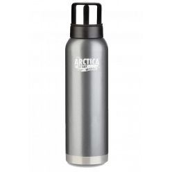 Термос  Арктика бытовой,вакуум 1200мл(серый)д/напитков