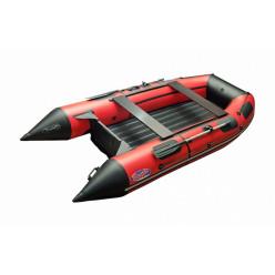 Моторная лодка ПВХ Zefir 4400 красный с черным