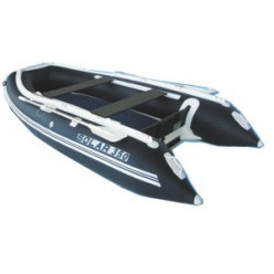 Лодка надувная транцевая Солар Максима-350 синий