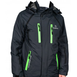 Куртка флис T4Z13-PLM002, Цв.Черный, L