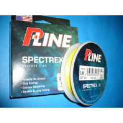 Плетеный шнур P-Line Spectrex IV 136м 0.10мм желтый