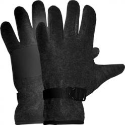 Перчатки флис Puffin Down W S/M, Черный