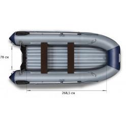 Надувная моторная лодка ФЛАГМАН-380L