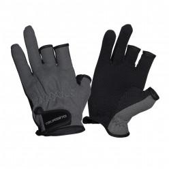 Перчатки TSURIBITO SFG-8016(3 открыт. пальца) серый