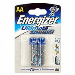 Элемент питания ENERGIZER Ultimat Lithium AA FR06 DFB2