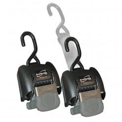 Стропы Boat Buckle G2 для прицепа с талрепом (пара), транцевые, нерж.сталь