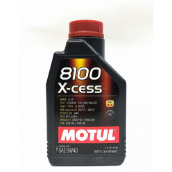 Мот.масло MOTUL 8100 X 5W-40 1л.синт