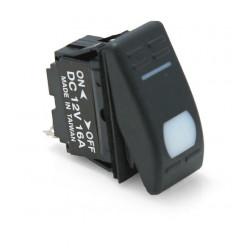 Переключатель двухпозиционный ON-OFF 12В/16А 3P с подсветкой
