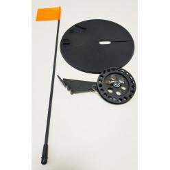 Жерлица RodStars пластиковая стойка катушка 90мм (оснащенная)