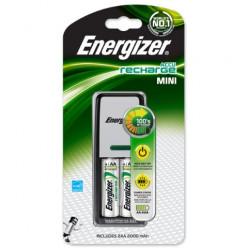 Зарядное ус-во Energizer Mini Charger 2AA 2000mAh