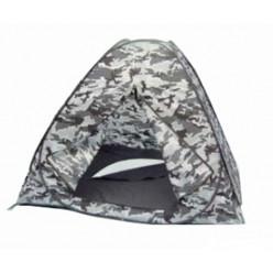 Палатка зимняя автомат 2,5*2,5*1,7 дно на молнии кмф
